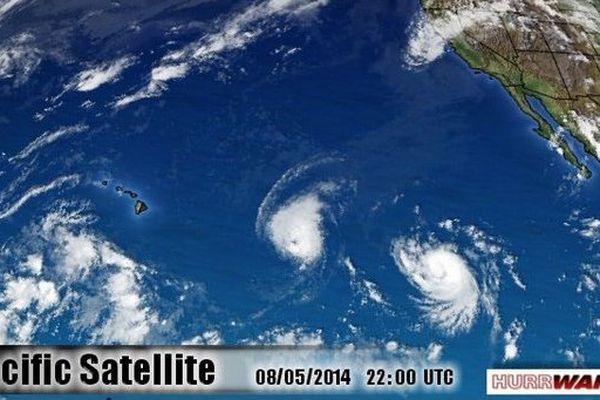 Ouragan à Hawaii