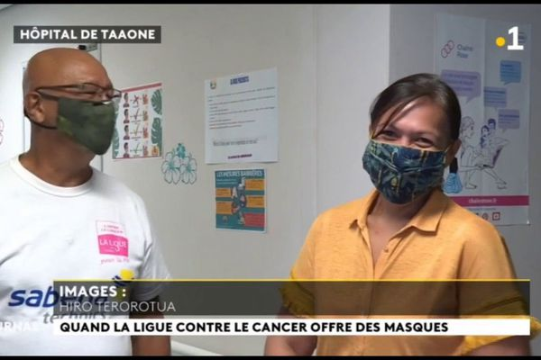 La ligue contre le cancer distribue des masques et du gel