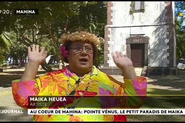 Au cœur du fenua : rencontre avec Maika Heuea