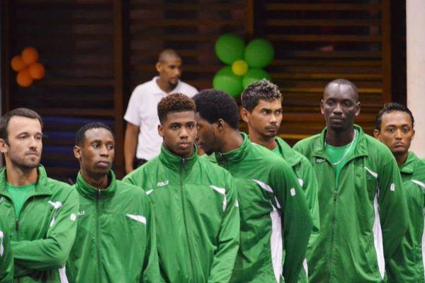 Equipe de volley de guyane