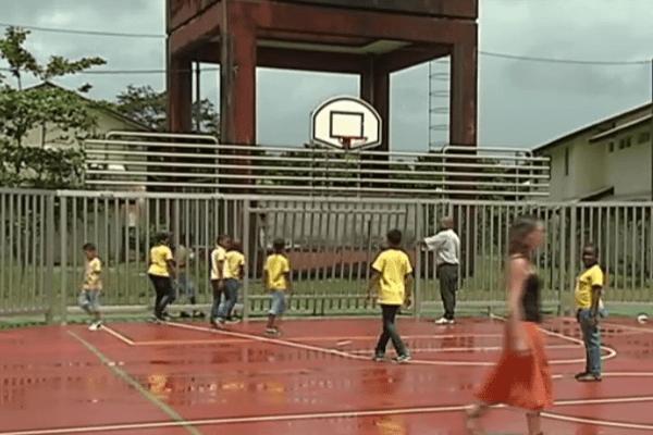 Plate forme sportive de Montsinéry