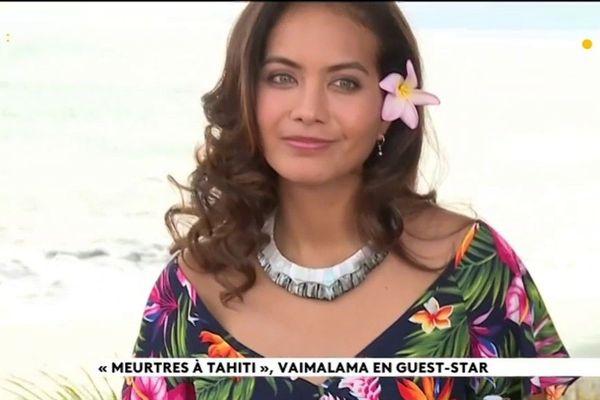 Vaimalama Chaves joue dans ''Meurtre à Tahiti''