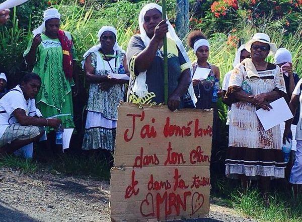 Houailou : famille de la victime morte sous les coups de son compagnon - février 2019