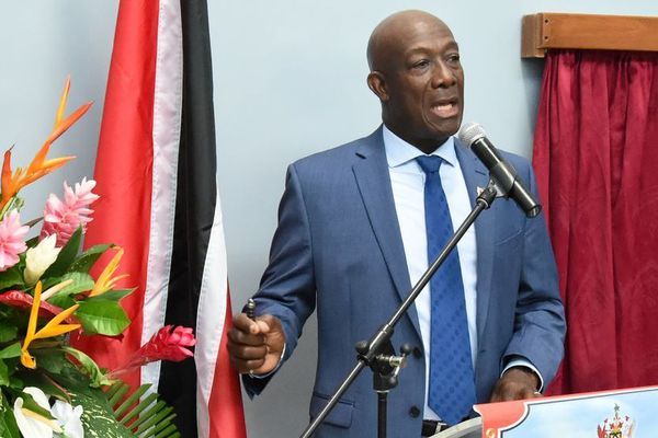 Keith Rowley, premier ministre de Trinidad et Tobago