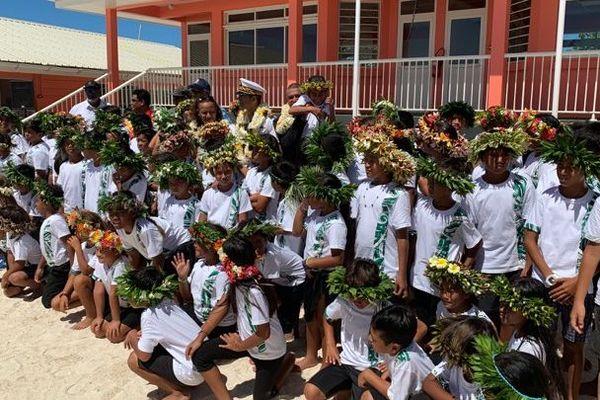 inauguration école maupiti