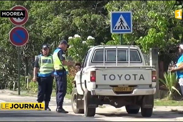 Sécurité routière : opération de prévention à Moorea