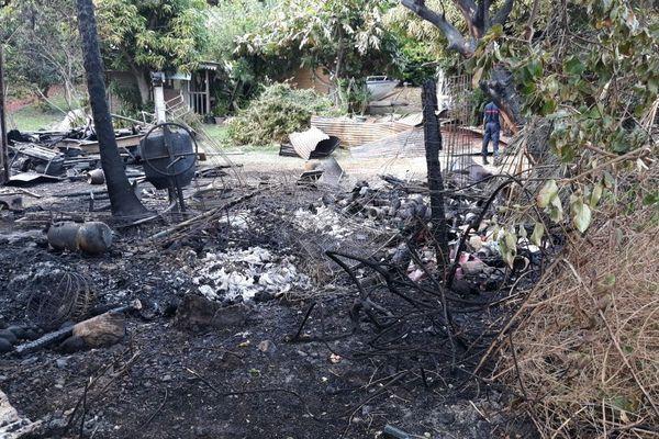 Destruction par le feu