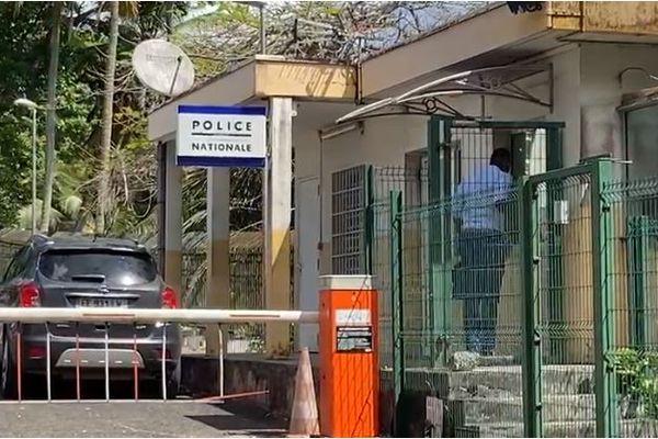 Direction interrégionale de la police judiciaire, au Morne Vergain (Les Abymes)