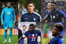 Mike Maignan, Raphaël Varane, Thomas Lemar, Marcus Thuram et Kingsley Coman ont été retenus pour disputer l'Euro 2021 de football en Equipe de France.