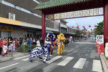 Les festivités se sont tenues dans le quartier asiatique de Nouméa.
