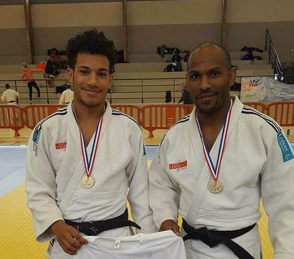 Judo Clément et Thierry Griamaud