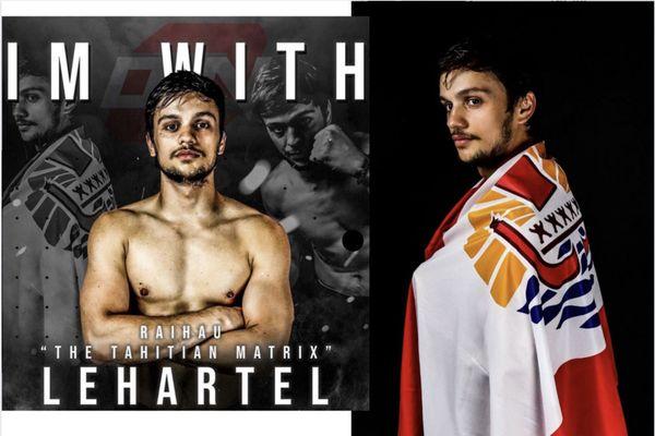 Combat professionnel de Raihau Lehartel à Auckland samedi 10 octobre