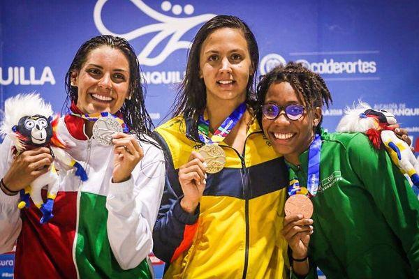 Médaille de bronze de Mathilde Jean, CAC Games, Barranquilla