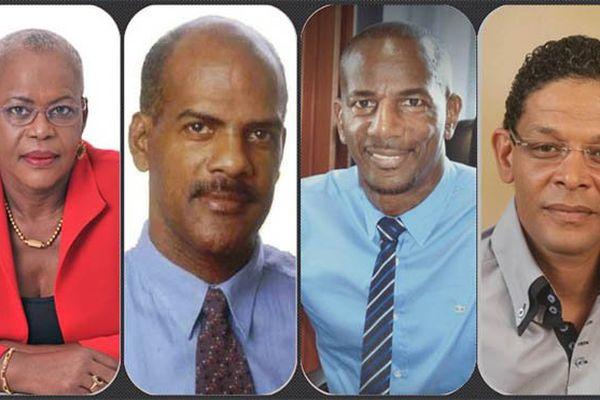 Les députés de Martinique