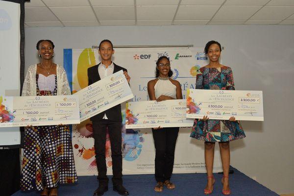 Les lauréats du prix de l'Excellence