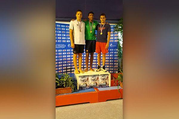 podium nageurs