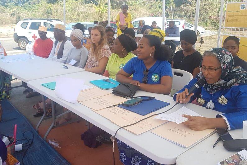 Première journée d'accès au droit pour le CCAS de Chirongui