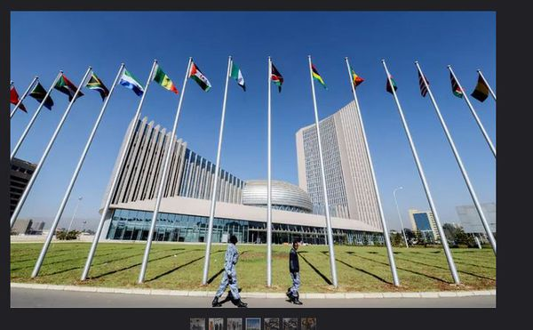 L'Union Africaine siège Addis Abeba, Ethiopie