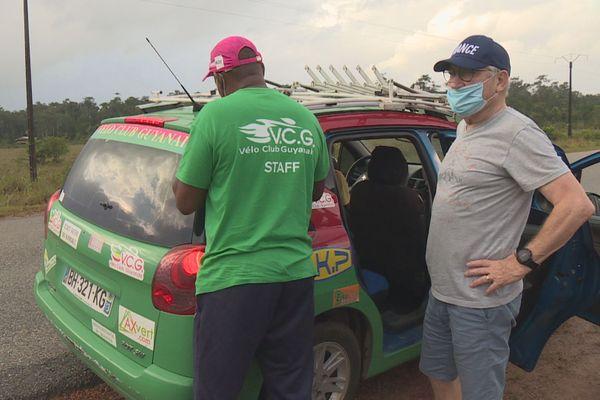 Cyrille Guimard en Guyane