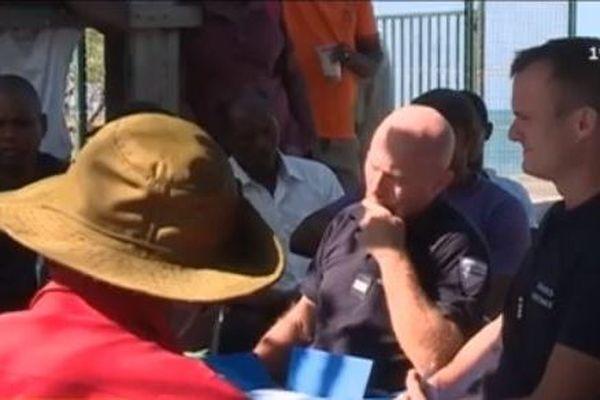 Rencontre pêcheurs et autorités