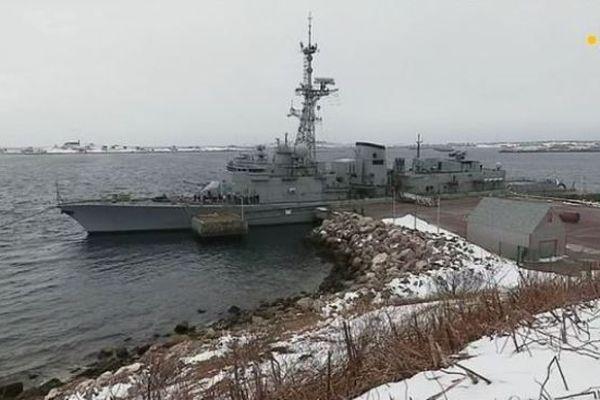 Visite du navire de la marine nationale Le Primauguet, en escale à Saint-Pierre et Miquelon