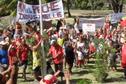 Nuku Hiva : 700 manifestants contre le projet de pêche industrielle