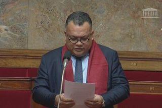 Le député Sylvain Brial à l'Assemblée Nationale