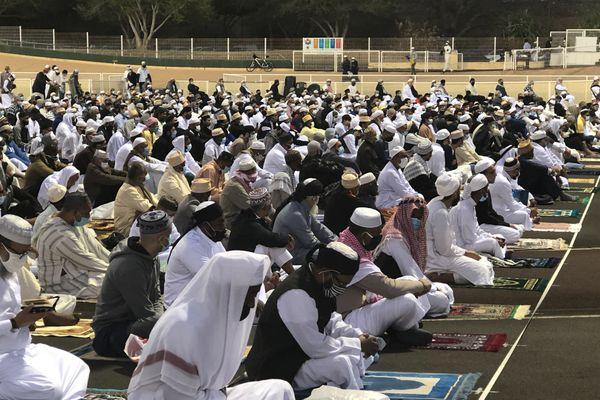 Les musulmans de l'île célèbrent la Eid
