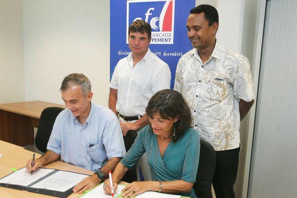 Nouvelle convention de prêt entre l'OPH et l'AFD pour 191 logements