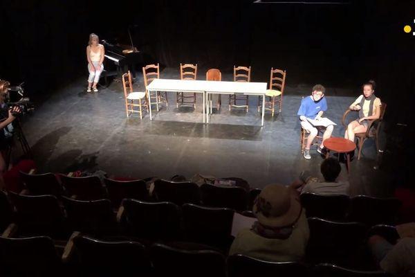 theatre avignon repetition