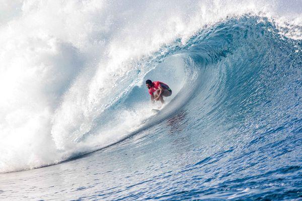 Michel Bourez Billabong Pro Tahiti 2