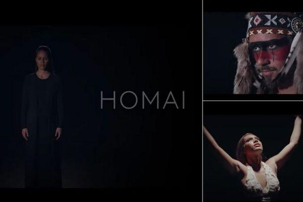Homai : nouvelle chanson et nouveau clip de Vaiteani