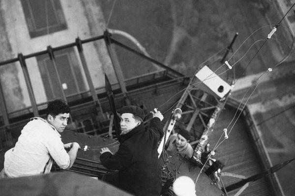 Poste émetteur Tour Eiffel 18 novembre 1935