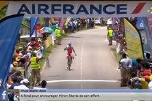 Romain Vinetot, vainqueur du 1er tronçon de la 2ème étape