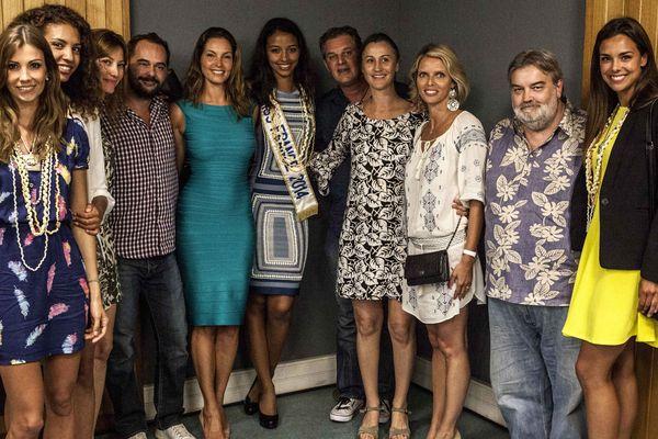 Les 7 Miss France dans le Grand Huit