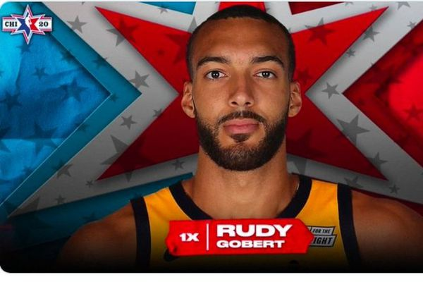 Rudy Gobert au All Star Game 2020