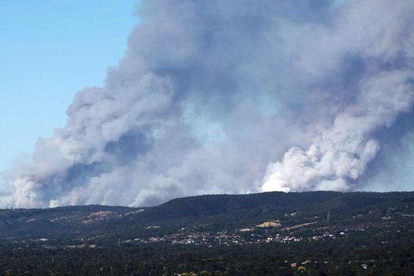 Australie : deux morts dans de giganstesques feux de forêt