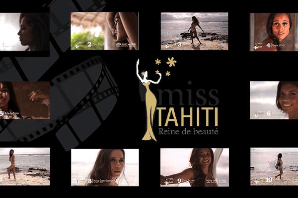 Quelques instants avec les candidates à Miss Tahiti 2015