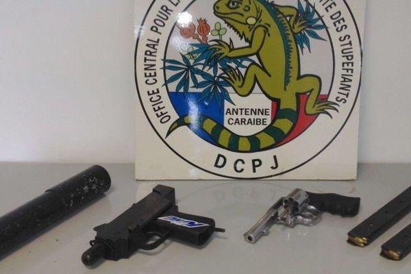 saisie de drogue et armes
