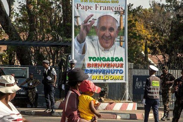 Le pape François est à Madagascar jusqu'à lundi.