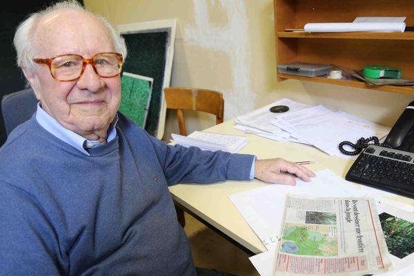 Pierre Frenay, retraité de l'IGN