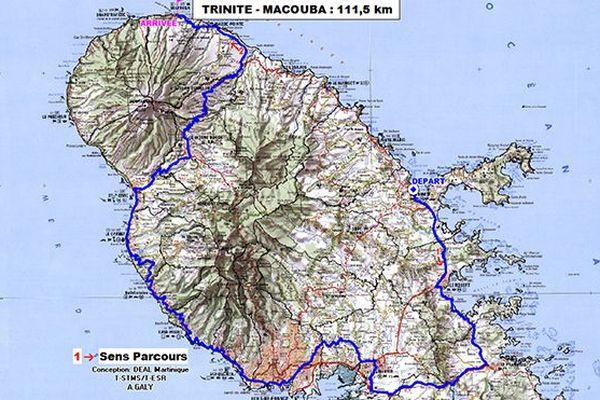 Tour cycliste de Martinique : Etape 3