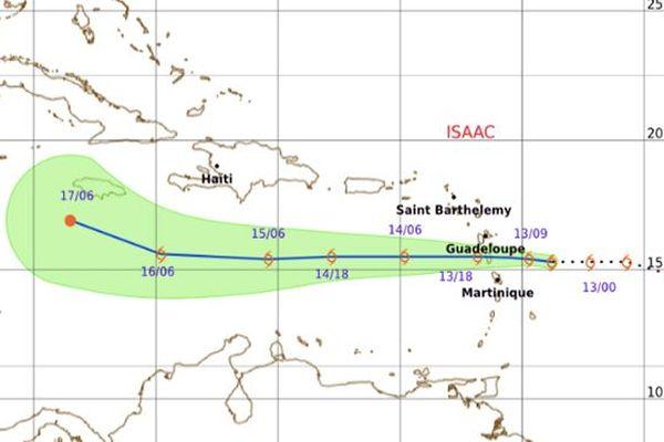 Carte météo jeudi matin