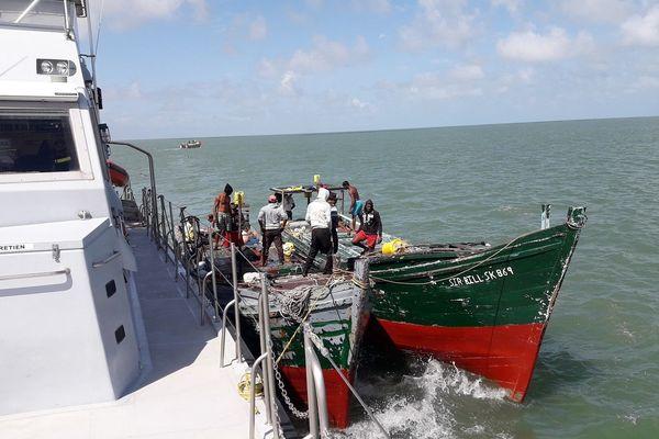 Lutte contre la pêche illicite, bilan 2018