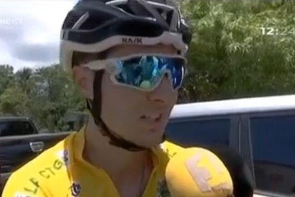Melvin Rullière vainqueur de l'étape Saint-Laurent - Sinnamary