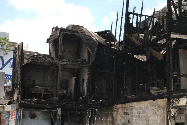 incendie septembre 2019 à Pointe-à-Pitre