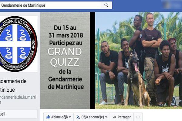capture FB gendarmerie