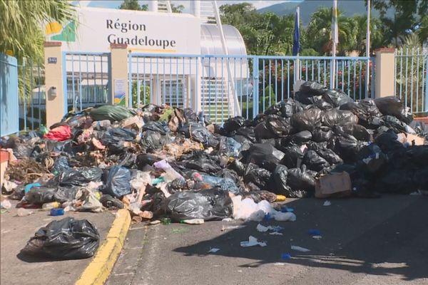 Ordures région Guadeloupe