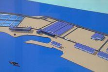 Image de synthèse de la ferme aquacole de Hao