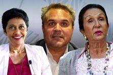 Didier Robert, Ericka Bareigts et Huguette Bello en tête de l'estimation SAGIS au 1er tour